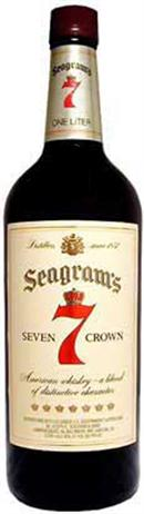 Seagrams 7 Crown Blended Whiskey